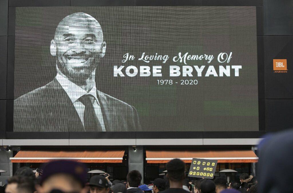 Kobe Bryant ölüm yıl dönümünde anılıyor