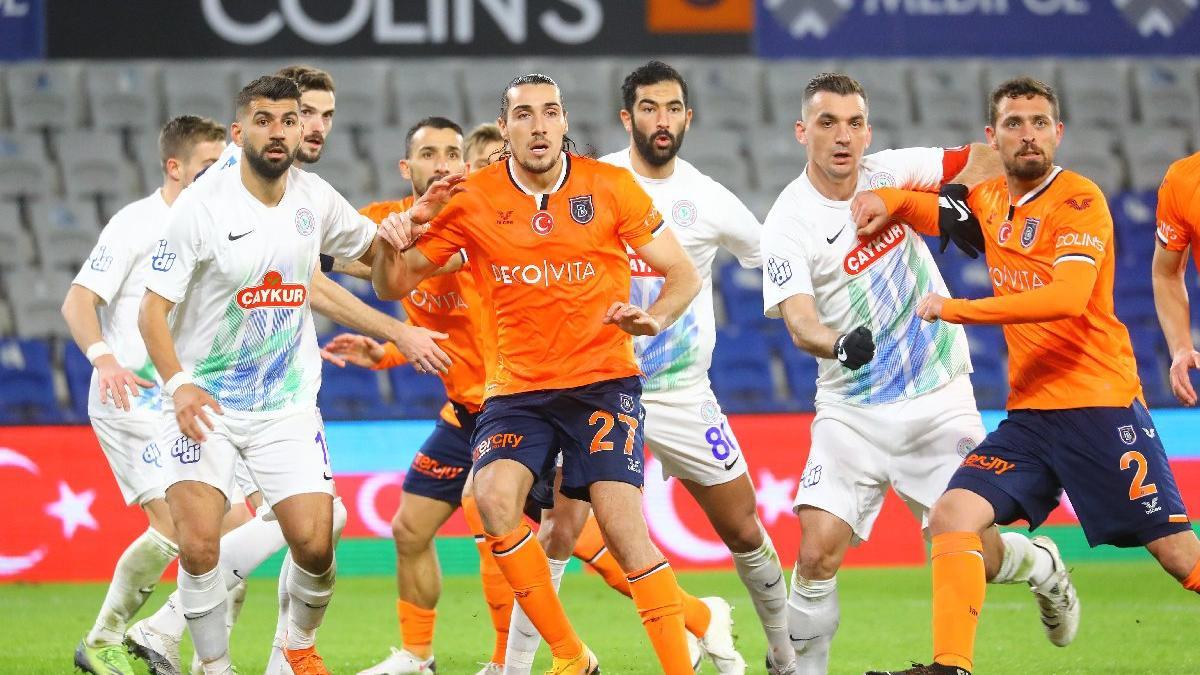 MAÇ SONUCU | Medipol Başakşehir 1-1 Çaykur Rizespor (Süper Lig 21. hafta)