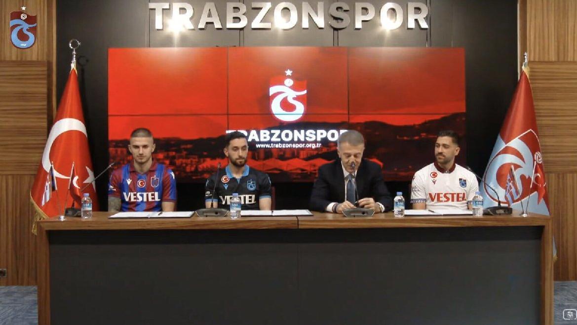 Trabzonspor'da Berat, Bakasetas ve Yunus Mallı imzaladı