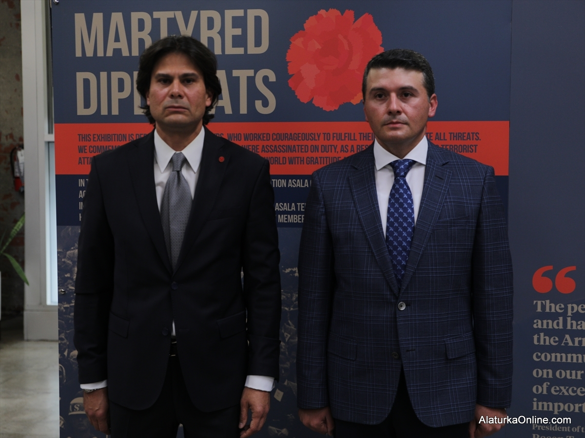 Martyred Diplomats Exhibition on show in Los Angeles