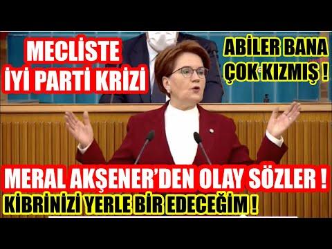 Mecliste Meral Akşener Krizi ! İyi Partiyi Meclise Almamışlar ! Akşener'den Olay Sözler !