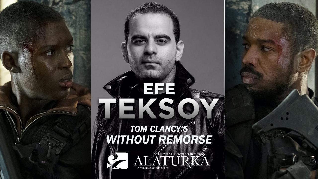 "Sinema Yazarı/Film Eleştirmeni Efe Teksoy ""Tom Clancy's without Remorse"" filmini yazdı."