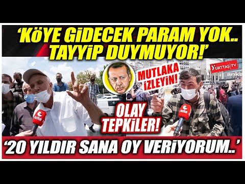 """Çiftçiler Erdoğan'a isyan etti! """"'20 yıldır sana oy veriyorum! Tayyip duymuyor.."""""""