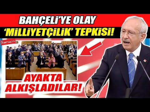 Kemal Kılıçdaroğlu Bahçeli'ye öyle bir yanıt verdi ki… Ayakta alkışladılar!