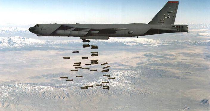 ABD B-52 bombardıman uçakları, Afganistan'da Taliban mevzilerini bombaladı
