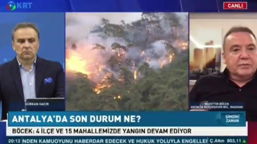 Muhittin Böcek'ten 'yangın cehenneminde partizanlık' açıklaması