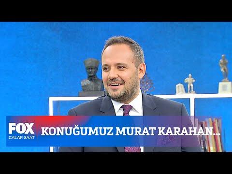 Konuğumuz Murat Karahan… 17 Eylül 2021 İsmail Küçükkaya ile Çalar Saat