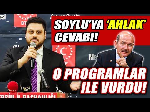 BTP Başkanı Hüseyin Baş'tan Süleyman Soylu'ya 'ahlak' cevabı! Kadın programlarıyla vurdu!