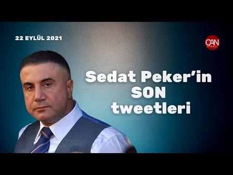 Sedat Peker'in Son Tweetleri   22.10.2021