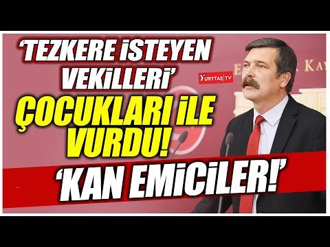 Tezkere isteyen vekilleri çocukları ile vurdu! Erdoğan'a demediğini bırakmadı! 'Kan emiciler!'