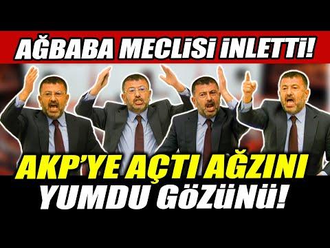 Veli Ağbaba Meclis'i inletti! AKP'ye açtı ağzını yumdu gözünü!