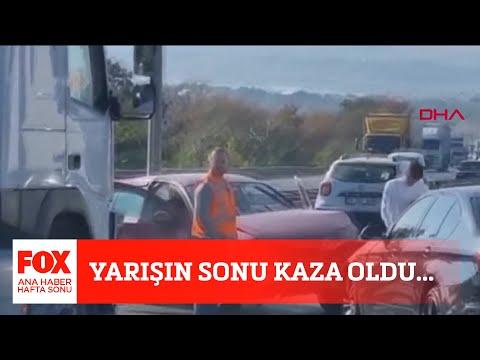 Yarışın sonu kaza oldu… 23 Ekim 2021 Gülbin Tosun ile FOX Ana Haber Hafta Sonu