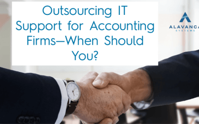 Outsourcing IT Support for Accounting Firms. — When Should You?