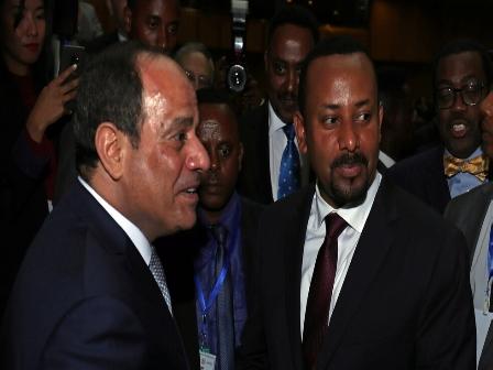 إثيوبيا، سد النهضة، أول رد مصري على تهديد رئيس وزراء إثيوبيا، صارع سد النهضة