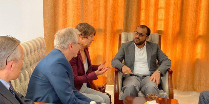 Photo of ألمانيا تدخل خط الأزمة اليمنية.. دبلوماسيون ألمان يلتقون الحوثيين في مسقط لبحث عملية السلام