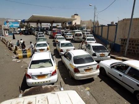 """معلومات جديدة عن أزمة المشتقات النفطية بـ """"صنعاء"""""""