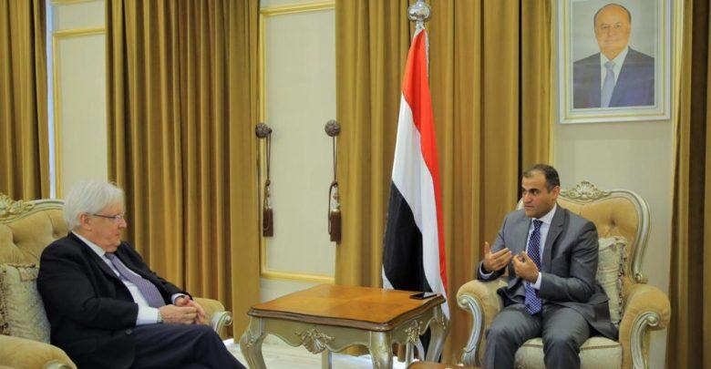 Photo of الخارجية اليمنية لـ «غريفيث»: الحوثيون لم يلتزموا بخطوات اتفاق «ستوكهولم»
