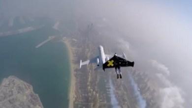 صورة الصحون الطائرة في امريكا من جديد.. قبطان طائرة يتحدث عن رجل نفاث حلق قرب طائرته على ارتفاع شاهق