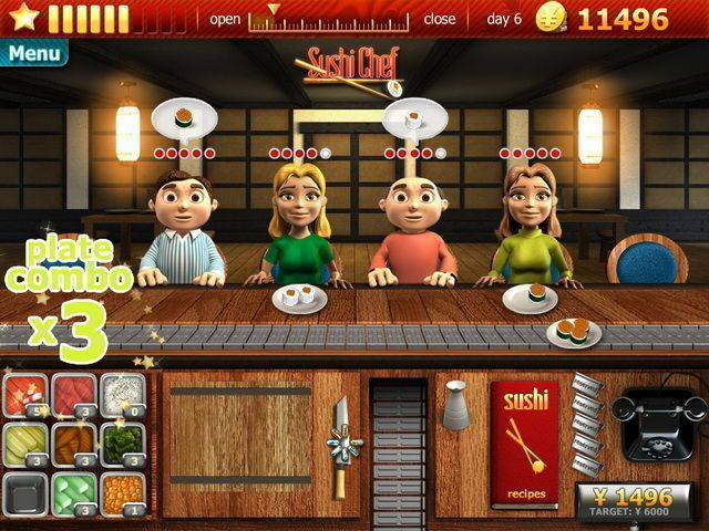 Time Management Restaurant Games Online