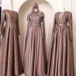 فساتين سهرة للمحجبات وكيفية اختيار الفستان على نوع جسمك