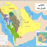 خريطة تواجد الذهب في السعودية