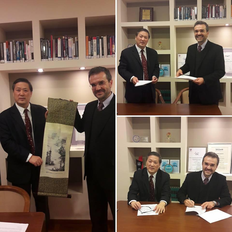 New exchange partner : Jinan University. China | ALBA
