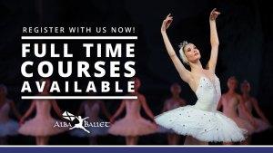 Register for full time ballet course