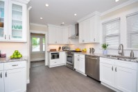White Shaker Kitchen Cabinets  Alba Kitchen Design Center ...