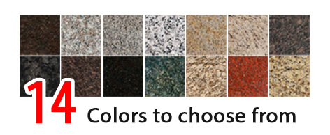 ALBA KITCHEN CABINETS 14 GRANITE COLORS TO CHOOSE FROM