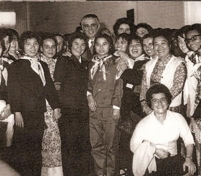 TIRANA 1969 - Un dittatore sorridente - Enver Hoxha all'epoca dell'idillio con la Cina di Mao