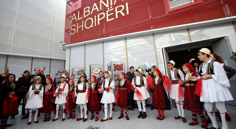 Festa albanese per il national day a expo milano 2015 for Esposizione universale expo milano 2015