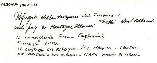 VAL DI THETHI - RIFUGIO DELLA DIREZIONE DEL TURISMO - RETRO