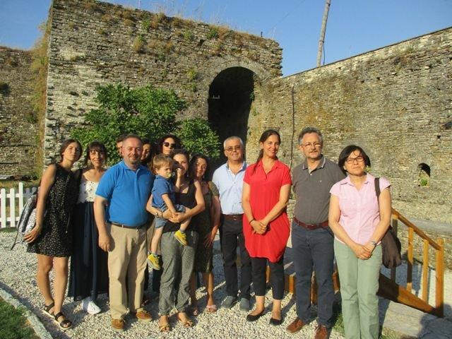 Argirocastro, Ministro Kumbaro e Misione archeologica italiana