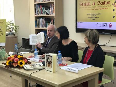 Biblioteca Nazionale A Tirana Presenta La Stampa Anastatica Degli Statuti Di Scutari 4