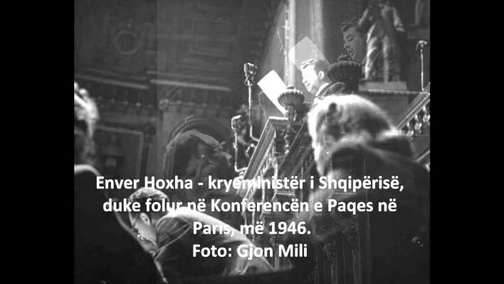 Foto Gjon Mili Enver Hoxha
