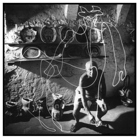 Picasso Disegna Un Centauro