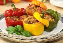 Peperoni ripieni di carne all'albanese (speca të mbushur me mish)