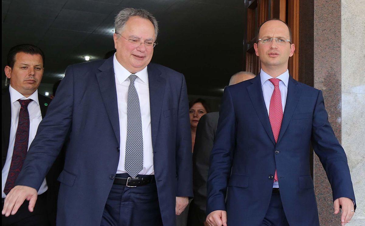 Ditmir Bushati E Nikos Kotzias