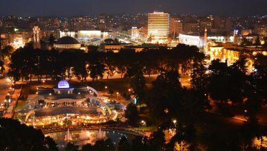 Tirana By Night Record Mondiale Di Bar In Albania Opt