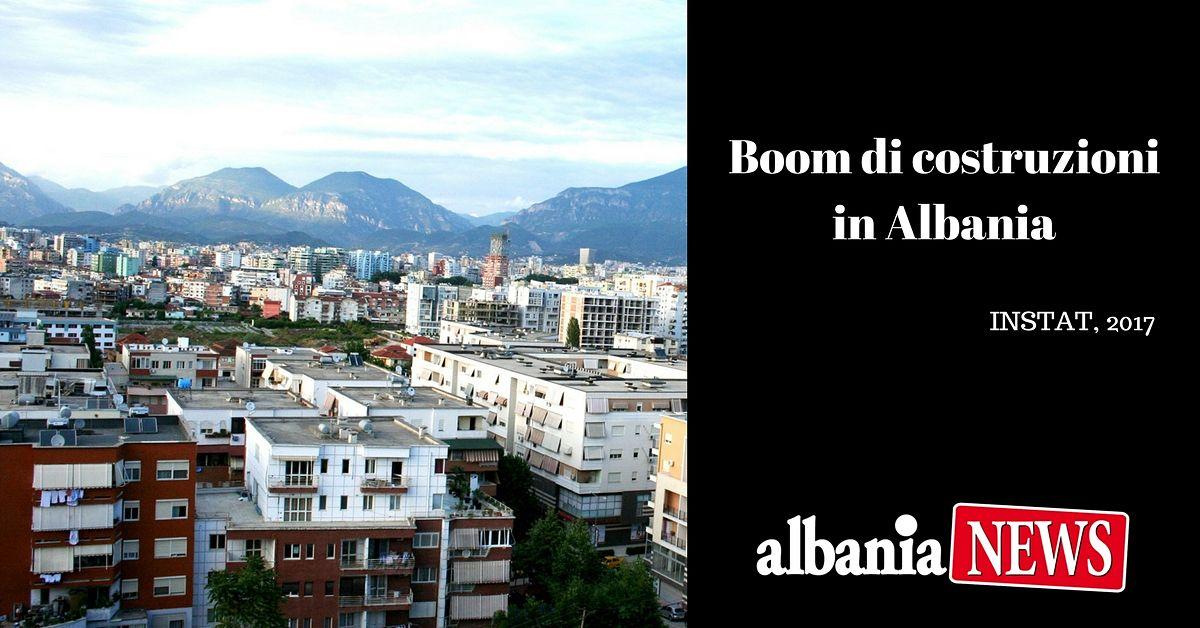 Boom Di Costruzioni In Albania Tirana Fier Durazzo 2017