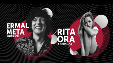 Ermal Meta Rita Ora Tirana