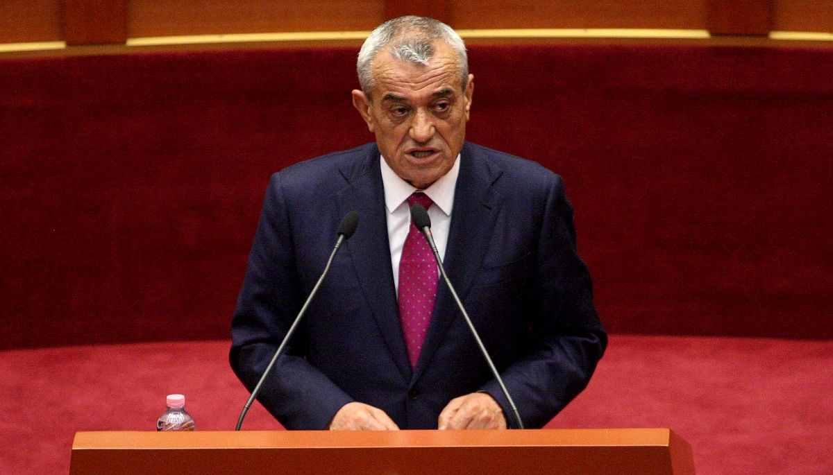 Gramoz Ruçi, Presidente del Parlamento Albanese