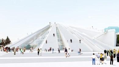 Vista Esterna Della Piramide Di Tirana, Da MVRDV