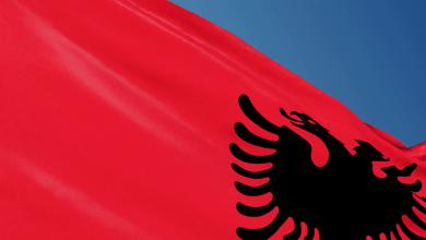 Bandiera Albanese identità albanese Albania Sociale aziende albanesi