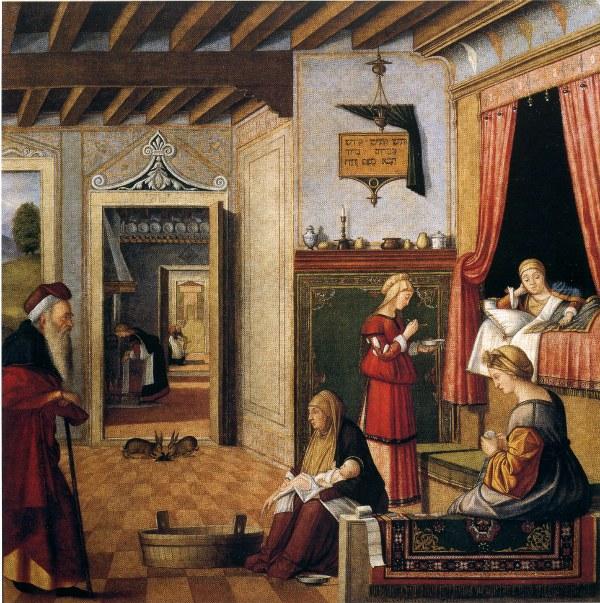 Venezia Scuola Degli Albanesi Vittore Carpaccio