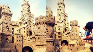 Castello di Sabbia nella Riviera Romagnola