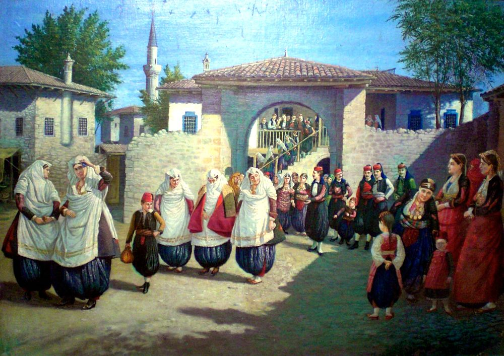Il matrimonio scutarino - Kolë Idromeno Scutari Shkodra