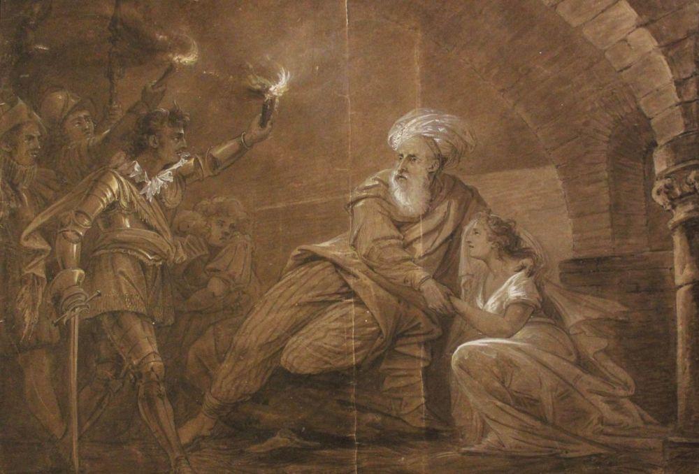 Un dipinto raffigurante Alì Pascià