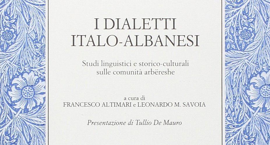 I Dialetti Italo Albanesi Francesco Altimari