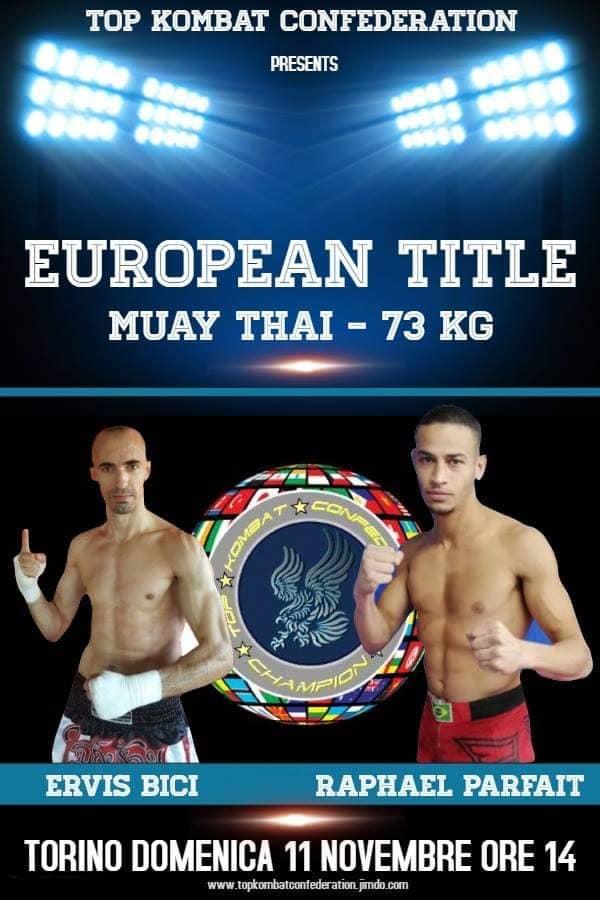 Torino Ervis Bici Contro Raphael Parfaid Muay Thai